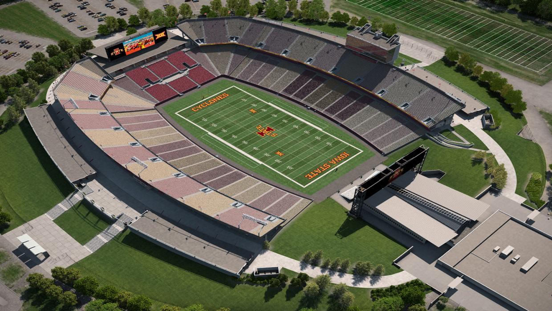 Iowa St Football Virtual Venue By Iomedia